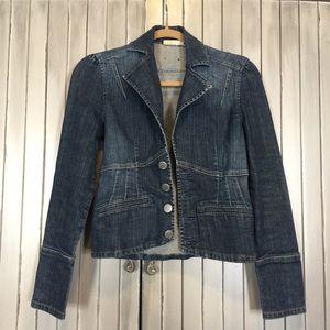 DKNY Jeans Denim Jean Blazer Jacket XS